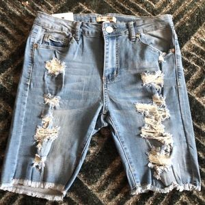 NWT American Bazi cut off shorts! Now in!!